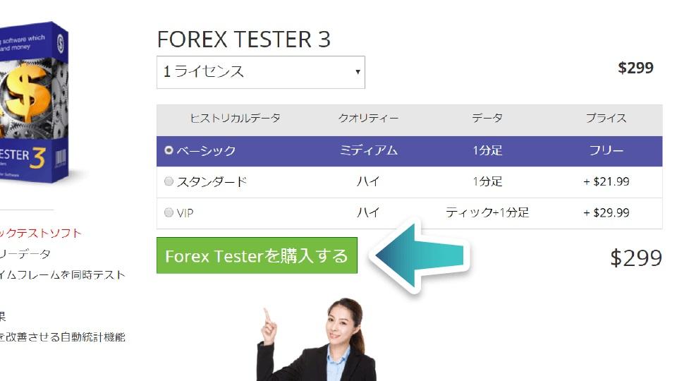 3.forex tester ライセンスを購入